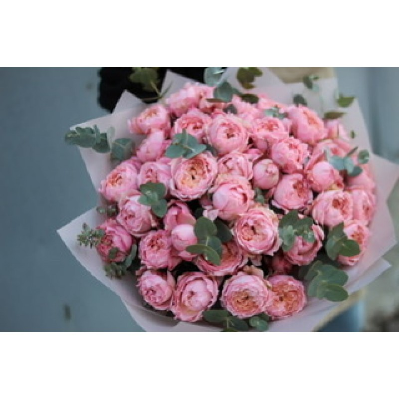 Подписка на пионовидные розы