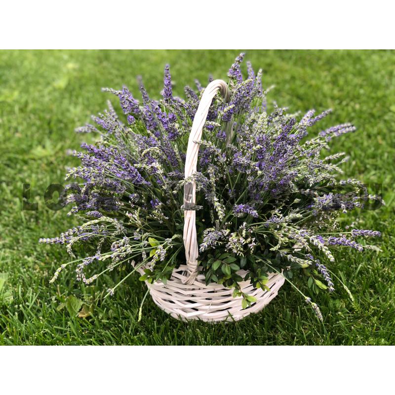 Лавандовая корзина