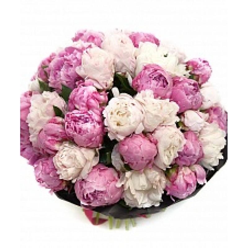 Бело-розовые зефирки