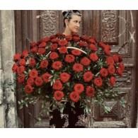корзины с розами