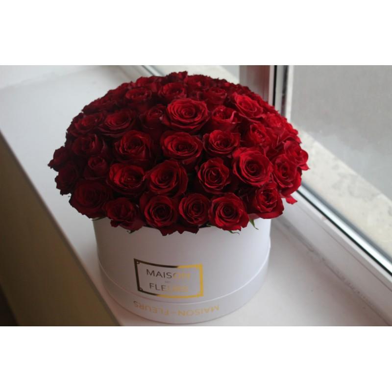 Розы Эксплорер  в коробке