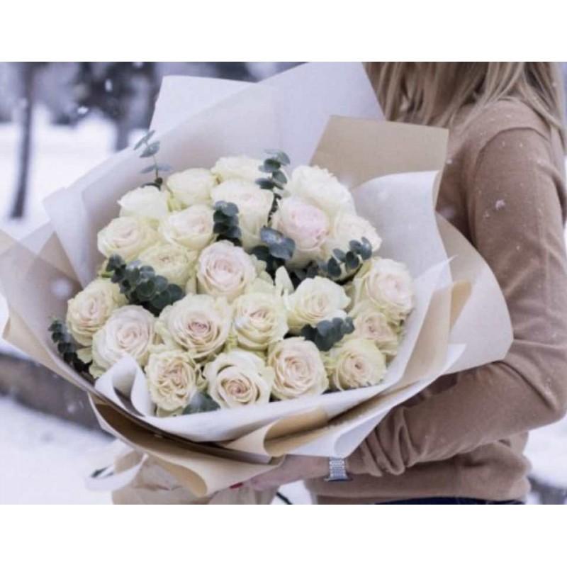 25 роз для Сергея с доставкой в Левобережный