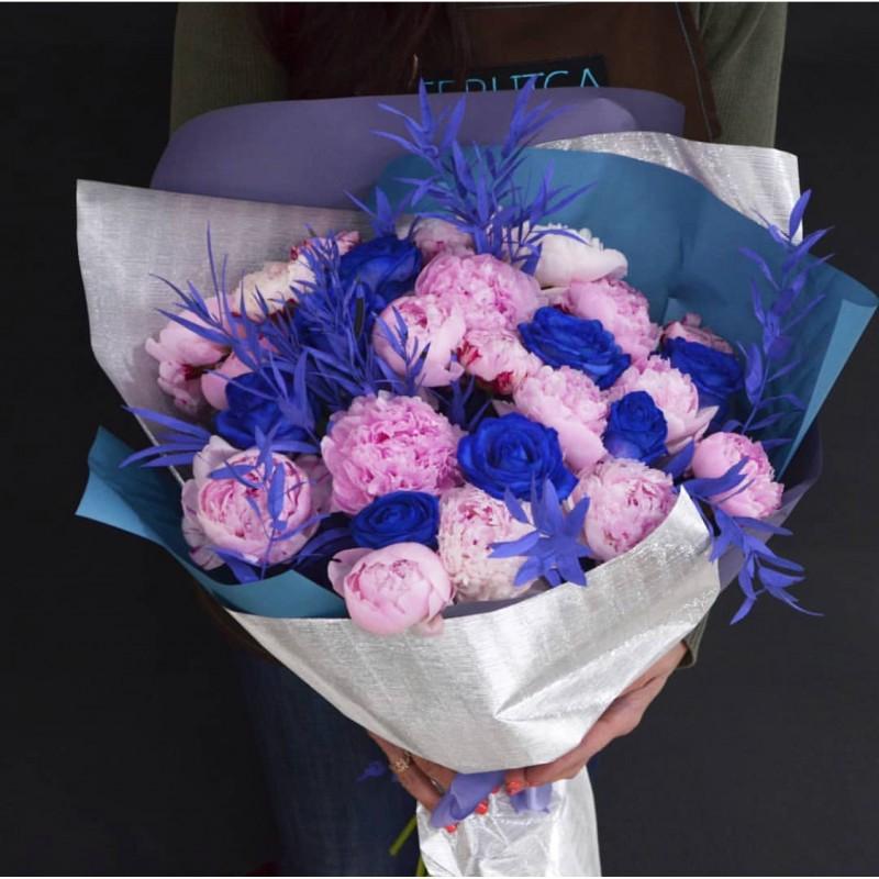 Розовое на синем!
