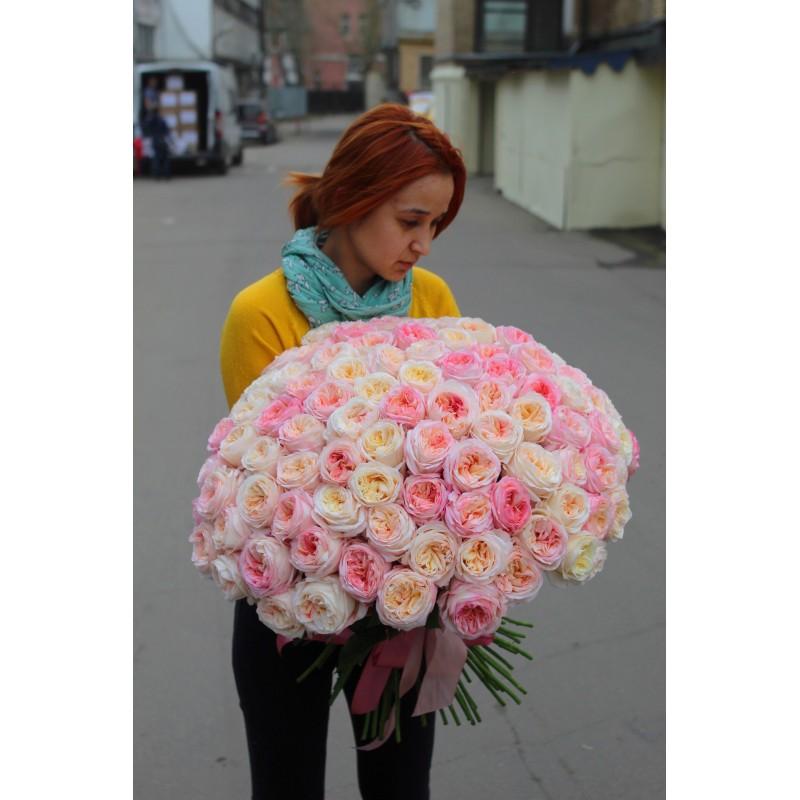 101 роза Анжи Романтика
