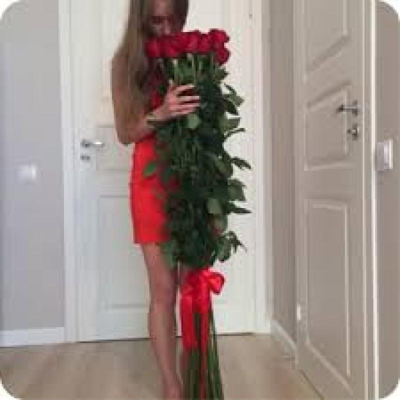 Розы высота 170 см., поштучно от 9 штук