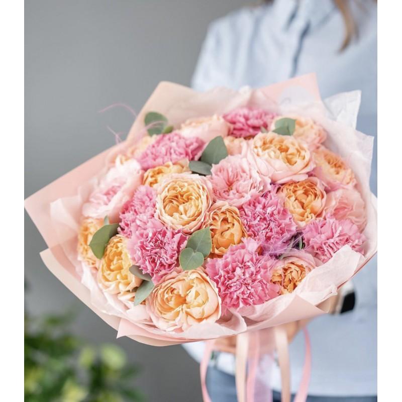 Персиково-розовый джем