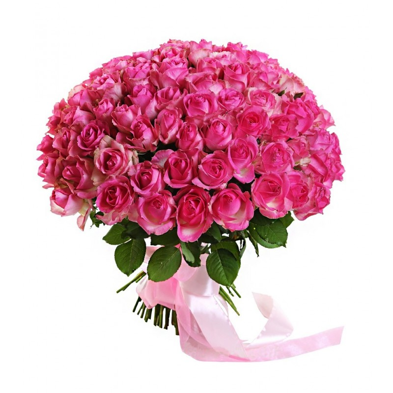 101 роза Малибу
