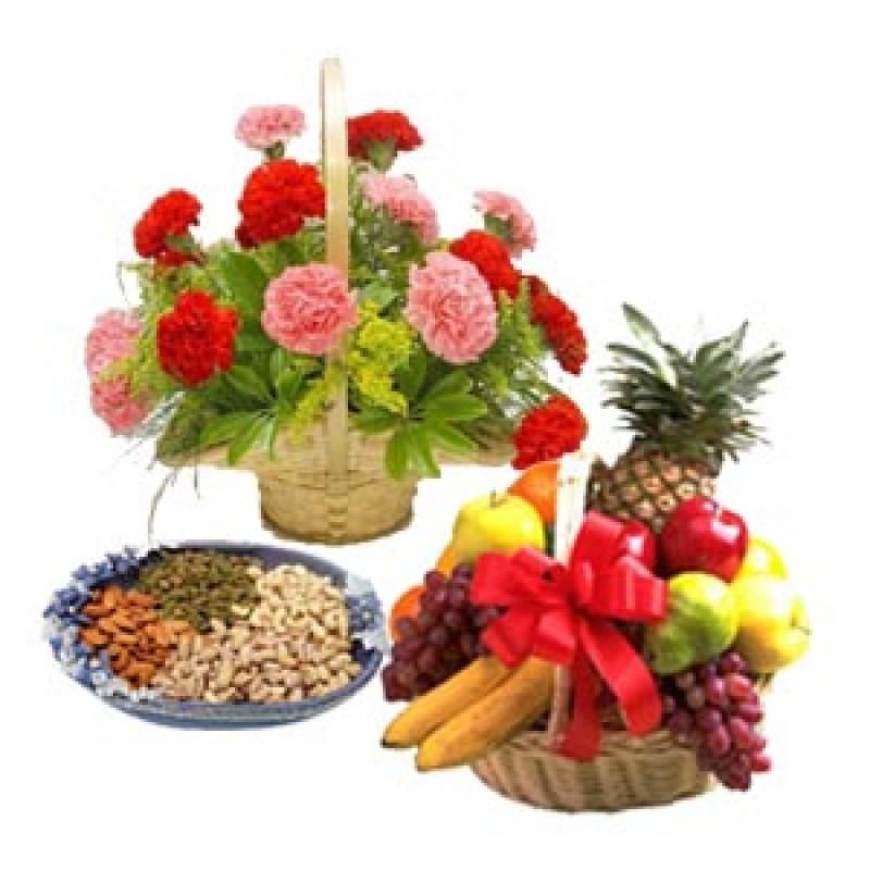 Фруктово-цветочно-ореховое трио