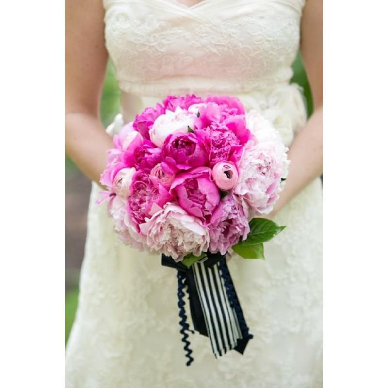 Розово-малиновый букет